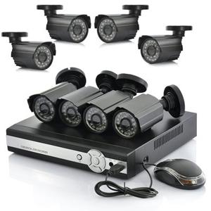 DVR-Set Videoüberwachung