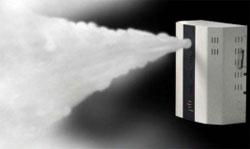 Alarmanlage mit Nebelmaschine