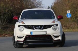 Nissan Juke Nismo in weiß