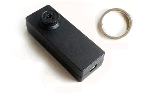 Hemdknopf-Kamera mit Ringsteuerung