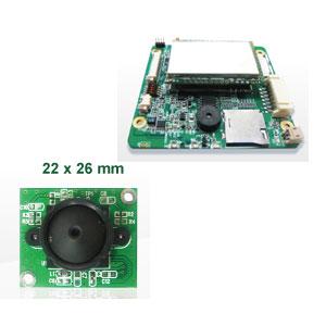 Platzsparend und mit vielen Funktionen: Die WLAN-Minikamera kommt mit Nachtsichtfunktion, WLAN und wechselbaren Kameraköpfen.