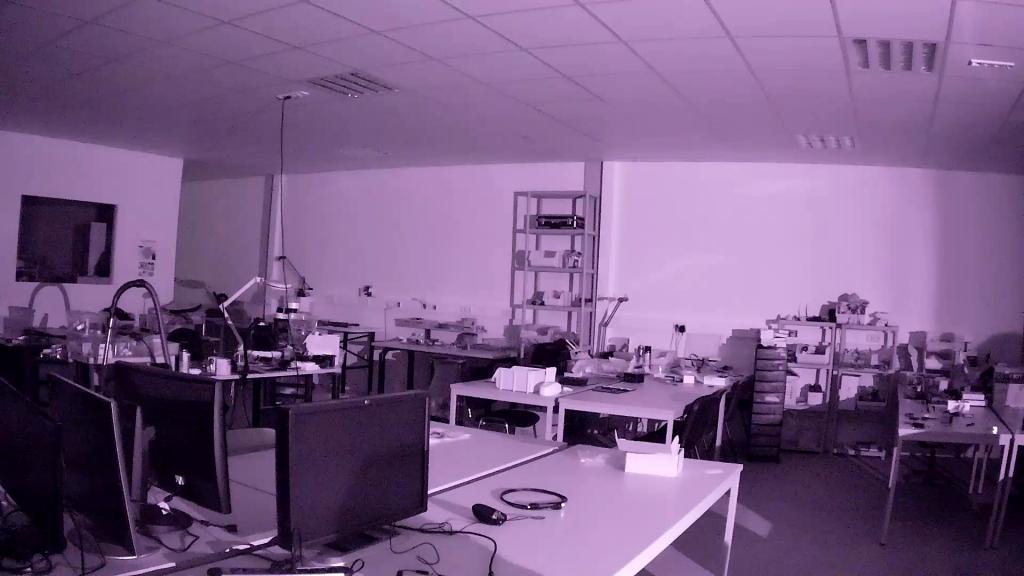 Nachtsicht-Test 4G Minikamera
