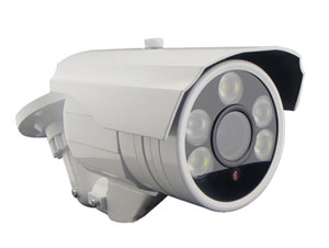 Überwachungskamera mit sichtbarem Licht